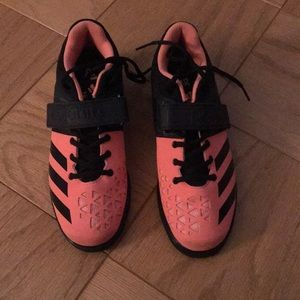 Women's Adidas powerlifting shoes; sz 8.5